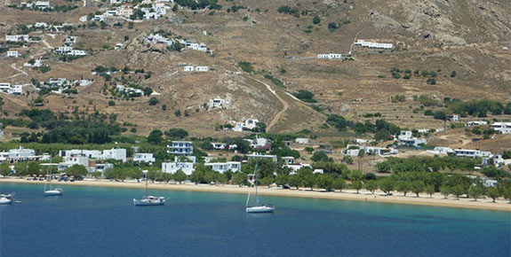 General View of Livadi Serifos
