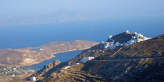Aerial View of Serifos Island